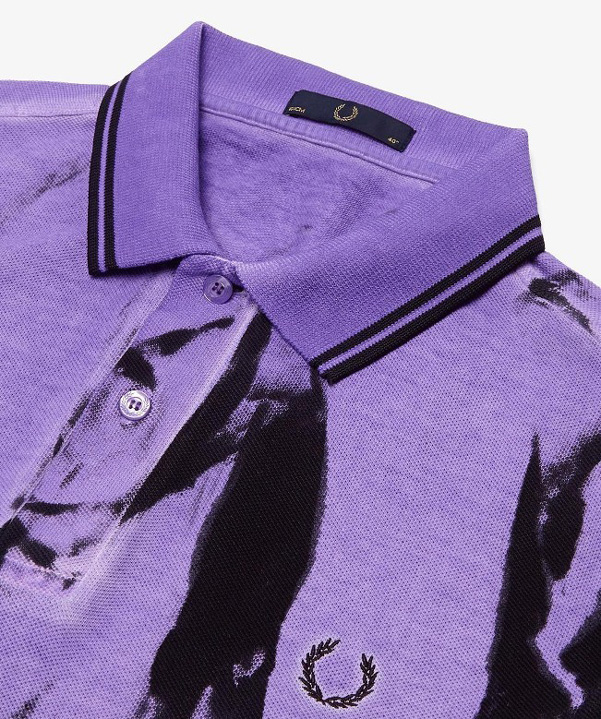 Fred Perry pe 2014 tie and dye