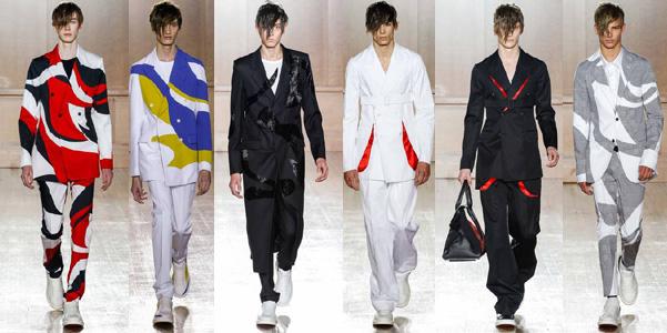 Moda uomo pe 2015 Alexander McQueen