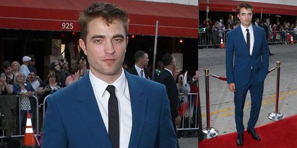 Robert Pattinson cravatta