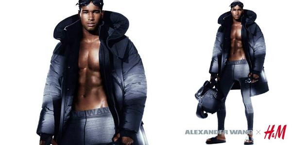 Alexander Wang HM uomo adv