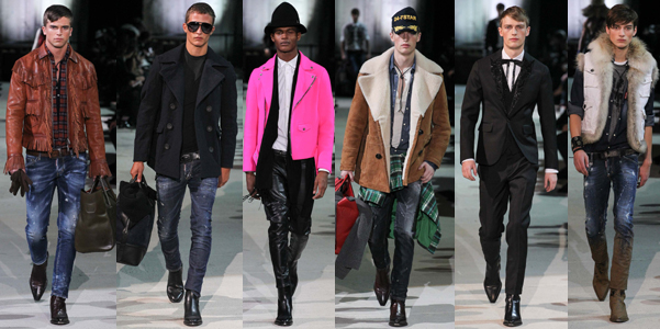 Moda uomo Fall 2015 DSquared2