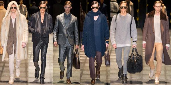 Moda uomo Fall 2015 Versace