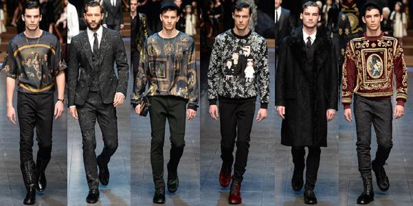 Dolce e Gabbana uomo Fall 2015
