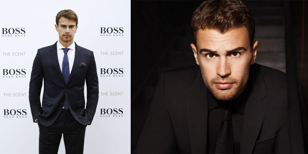 Theo James Hugo Boss The Scent