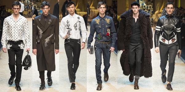 Moda uomo ai 2016-17  Dolce e Gabbana  59309ba0fc8