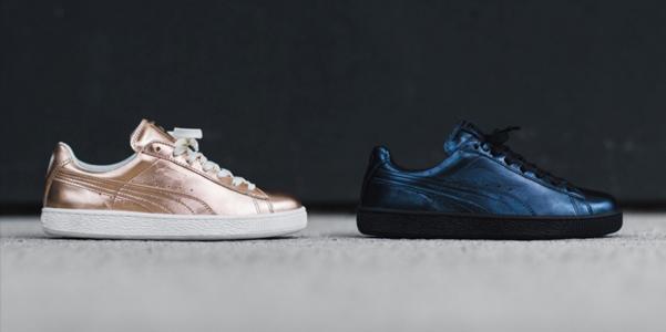 Sneakers-Puma-Basket-Metallic-Pack
