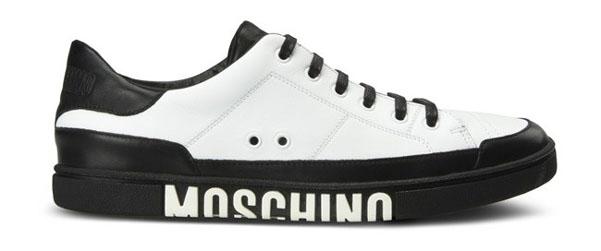 more photos 13999 c1e69 Sneakers Moschino, si punta sul bicolor   Fashion Man