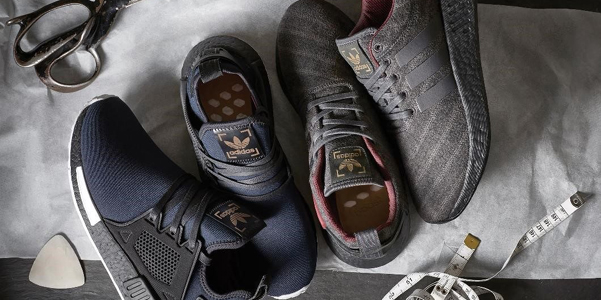 Le sneakers couture di Adidas ed Henry Poole