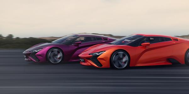 Vensepto Concept, la nuova auto di Steel Drake