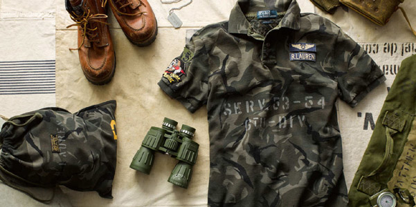Ralph Lauren Military Polo