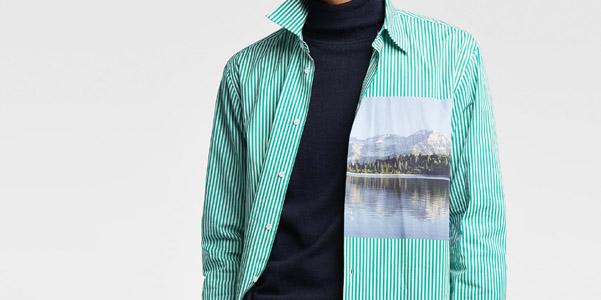 Trend alert: le camicie con paesaggio