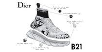 Sneakers B21 Socks di Dior
