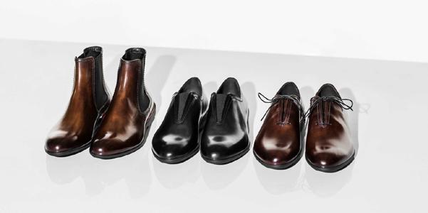 Berluti e Ferrari firmano insieme una collezione di scarpe