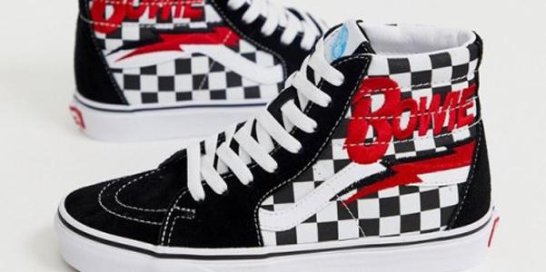 Vans firma un paio di sneakers dedicate a David Bowie