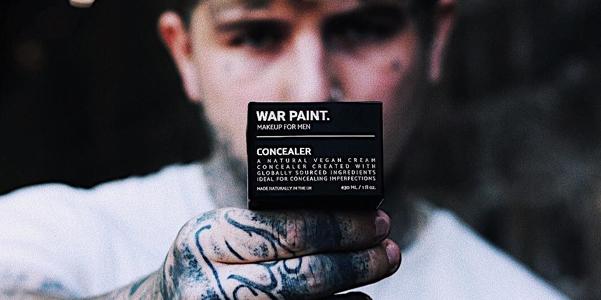War Paint, il nuovo make-up specifico per lui