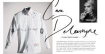 La camicia bianca rivisitata in onore di Karl Lagerfeld