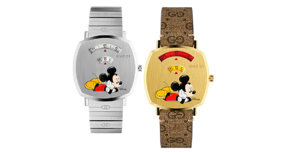 Grip Watch di Gucci si ispira a Mickey Mouse