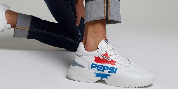 DSquared2 e Pepsi insieme per una linea streetwear