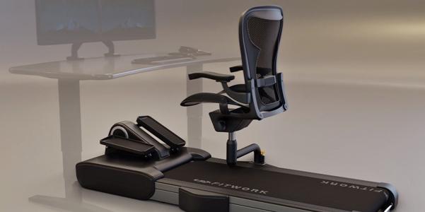 Fitwork, per fare sport alla scrivania mentre lavori