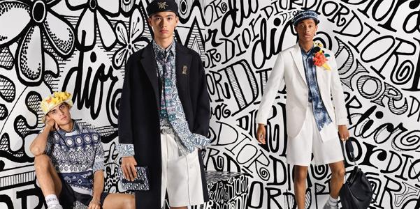 L'arte di Shawn Stussy per Dior Homme Fall 2020