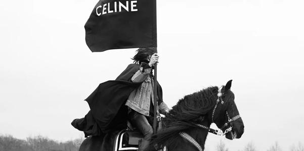 I cavalieri di Celine per l'autunno inverno 2021-22