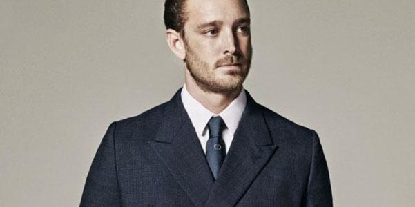 Pierre Casiraghi per Dior Homme