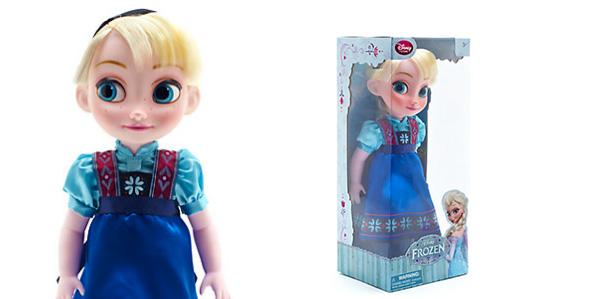 Dal cartoon frozen arriva la bambola di elsa regina delle