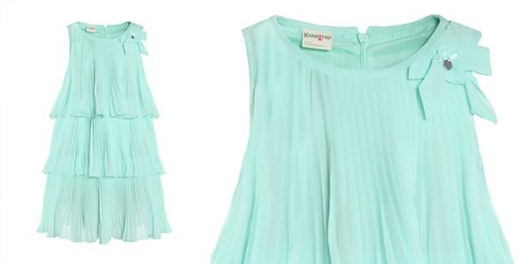 Vestiti Verde Tiffany Bambina.Vestiti Verde Tiffany Bambina Dinamicgarden