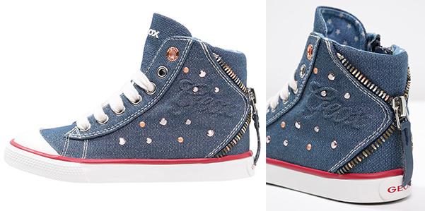 Le Di Sono Bimba Sneakers Geox Per In Denim Ohmybaby qpp4wR7