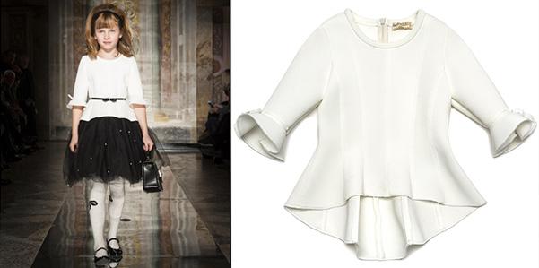 Il New Look rivive nella collezione autunno/ inverno di Monnalisa