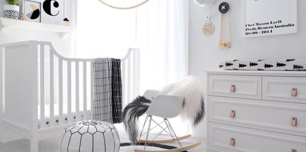 Nursery nordic style: la camera del bebè si fa di design