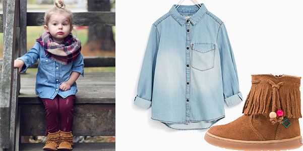 Get The Look: Copia il look da bimba per l'autunno