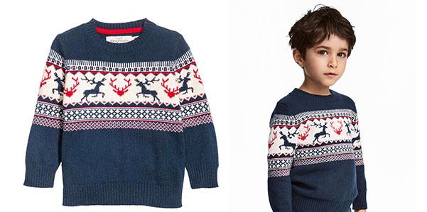 Da H&M il pullover jaquard è un must have