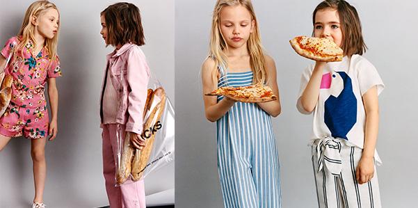 """""""Colours for lunch"""" la capsule collection colorata di Zara"""