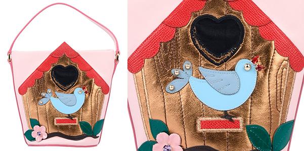 È rosa la borsetta di Dolce e Gabbana