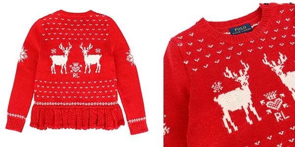 Il maglione delle feste è firmato Ralph Lauren