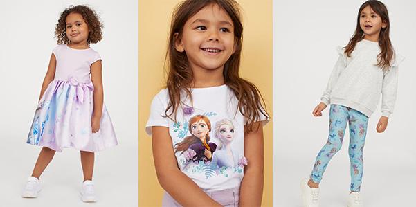 "H&M, una capsule collection dedicata a ""Frozen 2"""