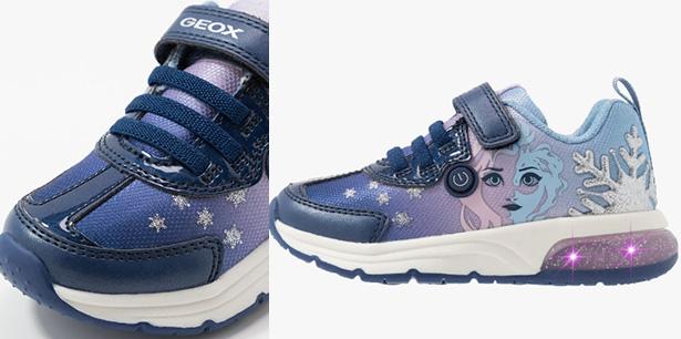 "Elsa di ""Frozen"" sulle sneakers Geox"