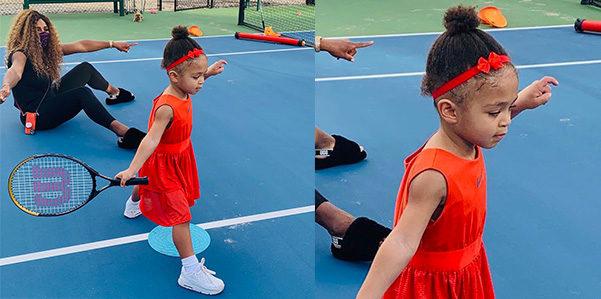 Olympia Ohanina e lo stile sul campo da tennis