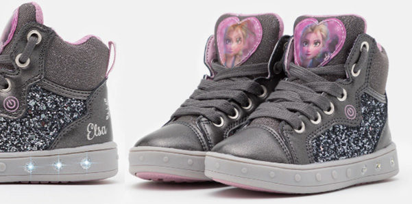 Geox: le sneakers con i led di Elsa