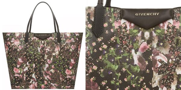 Givenchy Roses Camouflage Antigona