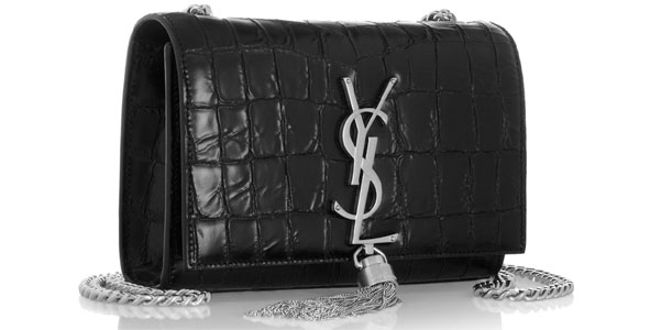 Saint Laurent Monogramme croc