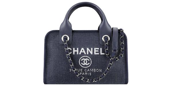 Borsa di jeans Chanel Deauville