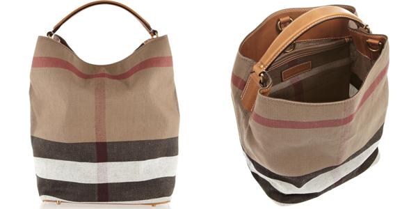 Shopping bag Burberry check
