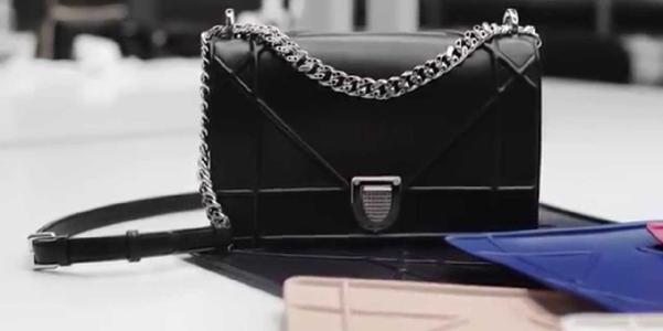 borsa Diorama Dior nera