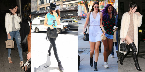 Kendall Jenner Celine Nano Luggage