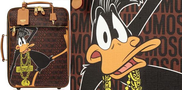 trolley moschino daffy duck