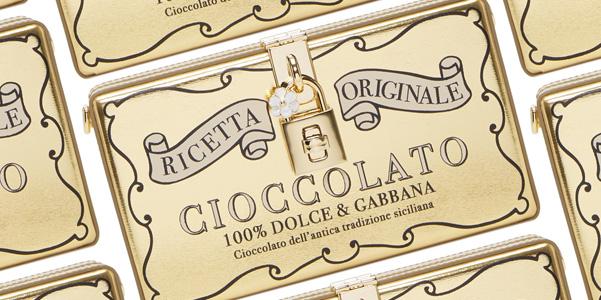 Clutch al cioccolato di Dolce e Gabbana