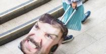 Head Case copra la valigia con la tua faccia