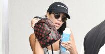 I mini zainetti di Kourtney Kardashian